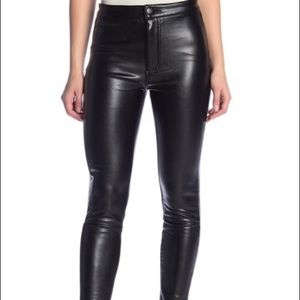Ashley Mason Faux Leather Pants